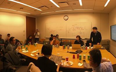 서경배과학재단의 신진연구자 연구지원사업 간담회 (2020년 1월 31일, Weill Cornell)